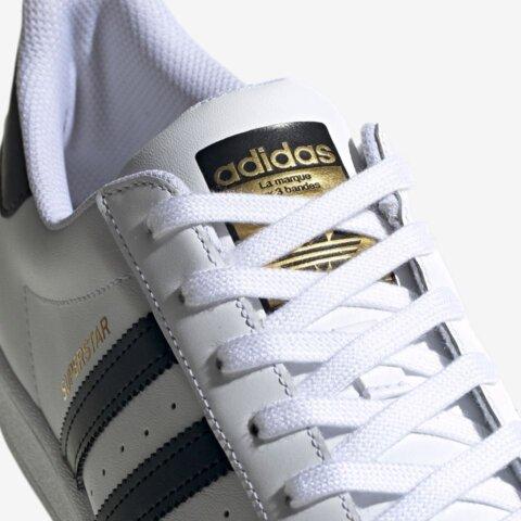 Adidas Superstar Wit Zwart Dames Sneaker 8