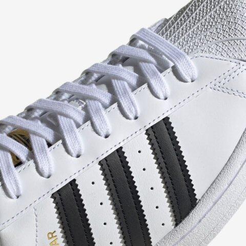 Adidas Superstar Wit Zwart Dames Sneaker 9